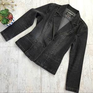 Rampage denim blazer Jean jacket size large
